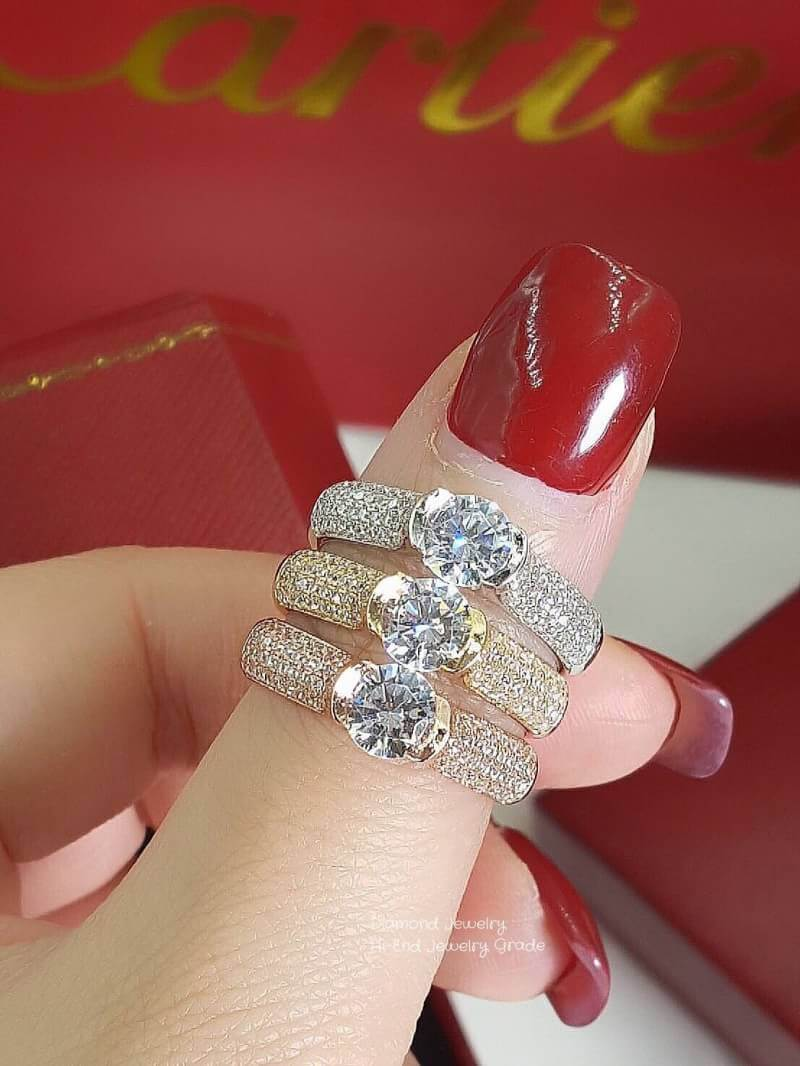 Diamond Ring แหวนเพชร CZ สวยมาก