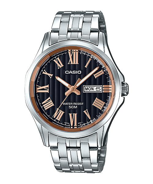 นาฬิกา casio ของแท้ MTP-E131DY-1AVDF CASIO นาฬิกา ราคาถูก ไม่เกิน สามพัน