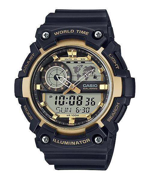 Casio นาฬิกา รุ่น AEQ-200W-9AVDF CASIO นาฬิกา ราคาถูก ไม่เกิน สามพัน