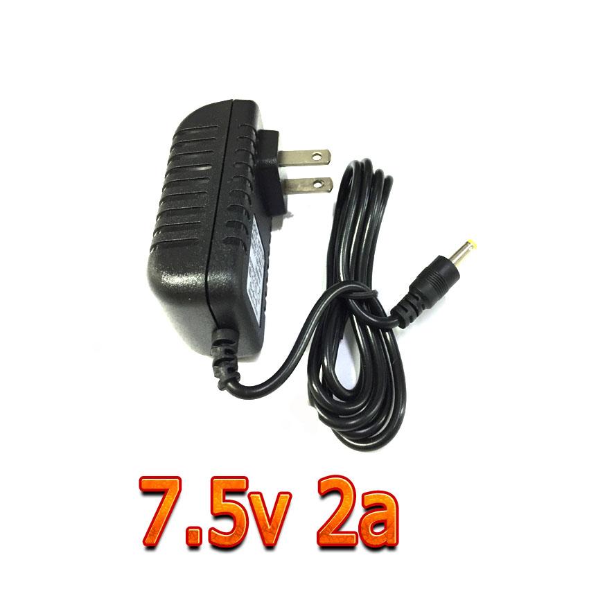 adapterที่ชาร์จ AC DC 7.5v 2a หัวเล็ก 4.0x1.7mm