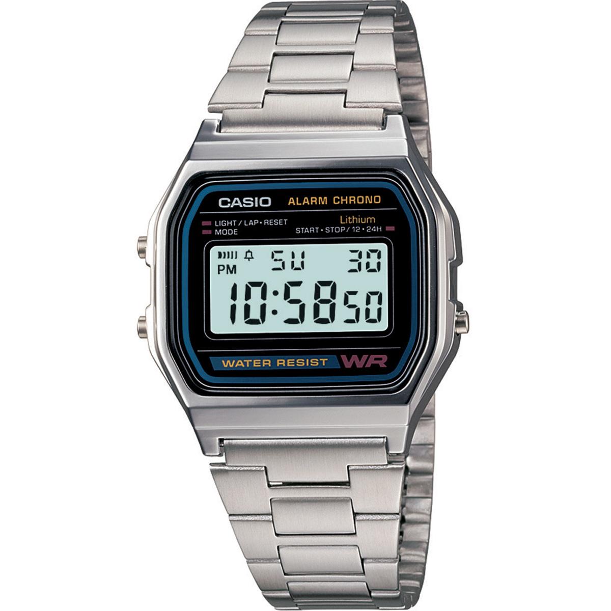 นาฬิกาข้อมือผู้หญิงCasioของแท้ A-158WA-1DF