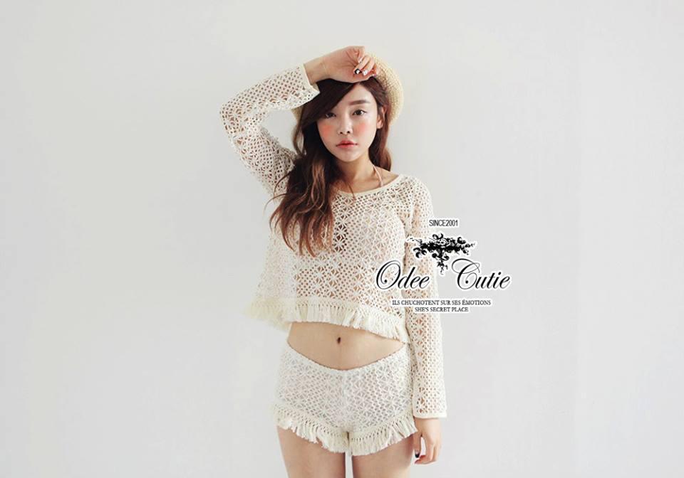เสื้อผ้าเกาหลี พร้อมสง แมตช์เซ็ทลุคสาวเก๋ สามารถ mix&match ได้หลายสไตล์