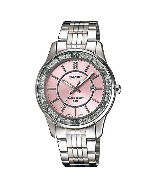นาฬิกาข้อมือผู้หญิงCasioของแท้ LTP-1358D-4AVDF CASIO นาฬิกา ราคาถูก ไม่เกิน สามพัน