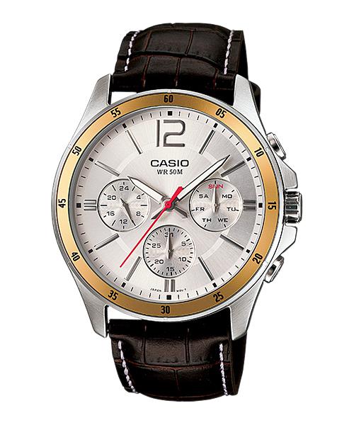 นาฬิกา Casio ของแท้ รุ่น MTP-1374L-7AVDF CASIO นาฬิกา ราคาถูก ไม่เกิน สองพัน