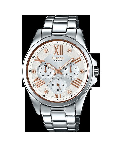 CASIO นาฬิกาข้อมือ SHEEN รุ่น SHE-3806D-7B