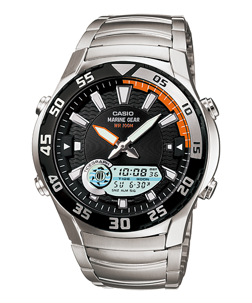 Casio นาฬิกา รุ่น AMW-710D-1AVDF