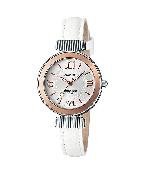 นาฬิกา ข้อมือผู้หญิง casio ของแท้ LTP-E405L-7AVDF CASIO นาฬิกา ราคาถูก ไม่เกิน สามพัน