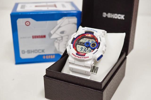 GShock G-Shockของแท้ ประกันศูนย์ G-SHOCK X Gundam Haze 35th Mobile Suit Limited Edition