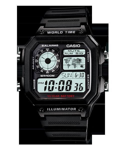 Casio นาฬิกา รุ่น AE-1200WH-1AV CASIO นาฬิกา ราคาถูก ไม่เกิน สองพัน