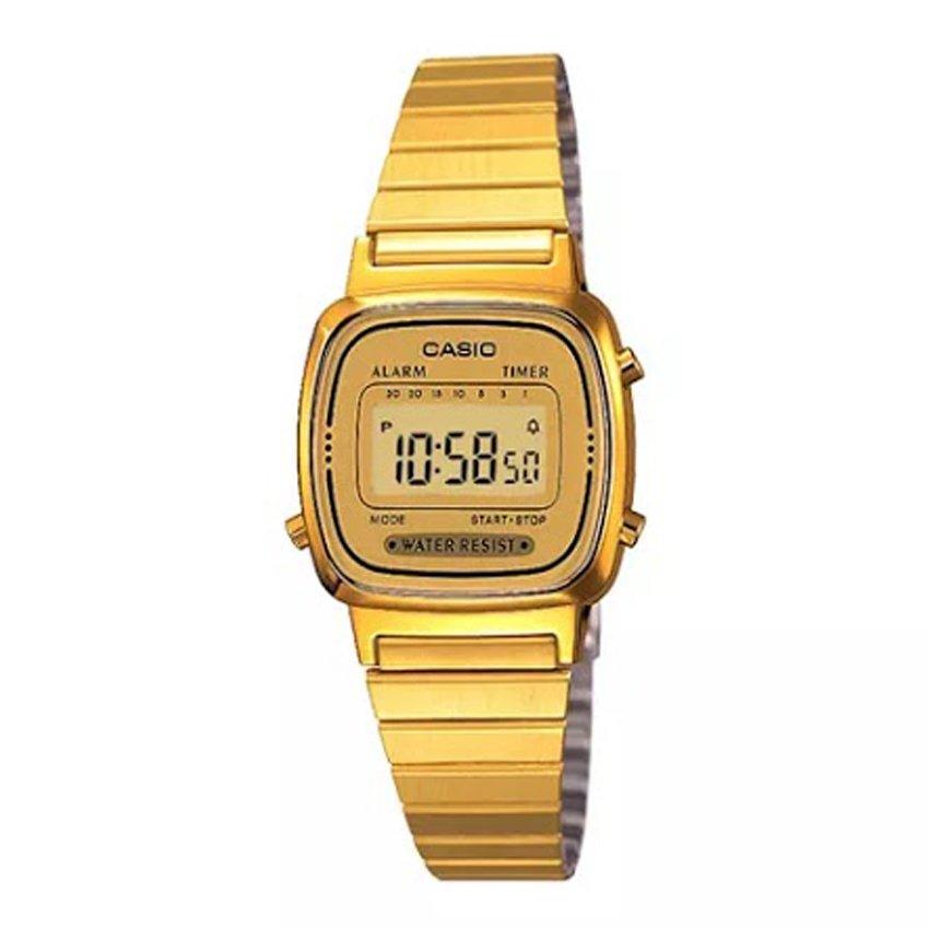 นาฬิกาข้อมือผู้หญิงCasioของแท้ LA670WGA-9DF CASIO นาฬิกา ราคาถูก ไม่เกิน สองพัน