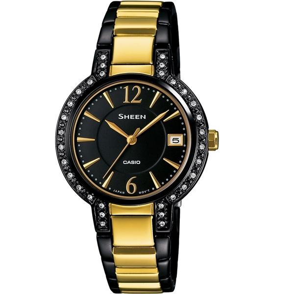 CASIO SHEEN นาฬิกาข้อมือ SHE-4805BSG-1A