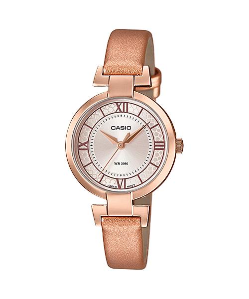 นาฬิกาข้อมือผู้หญิงCasioของแท้ LTP-E403PL-9A1VDF CASIO นาฬิกา ราคาถูก ไม่เกิน สามพัน