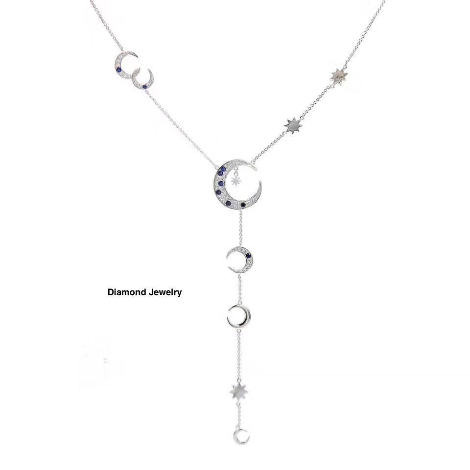 พร้อมส่ง Diamond Necklace by APM สร้อยคอเพชร APM