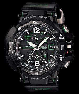 GShock G-Shockของแท้ ประกันศูนย์ GW-A1100-1A3