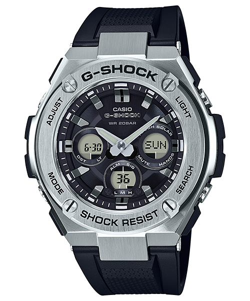 GShock G-Shockของแท้ ประกันศูนย์ G-STEEL TOUGHSOLAR GST-S310-1A