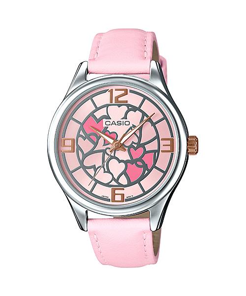 นาฬิกาข้อมือผู้หญิงCasioของแท้ LTP-E128L-4ADF CASIO นาฬิกา ราคาถูก ไม่เกิน สองพัน