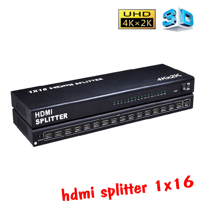 hdmi splitter 1x16 full hd 3D 4kx2k