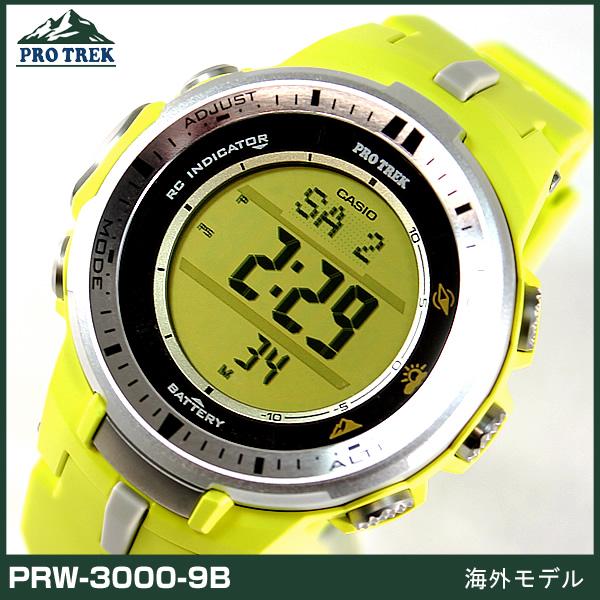 PRO TREK โพเทค PRW-3000-9B ของแท้ ประกันศูนย์