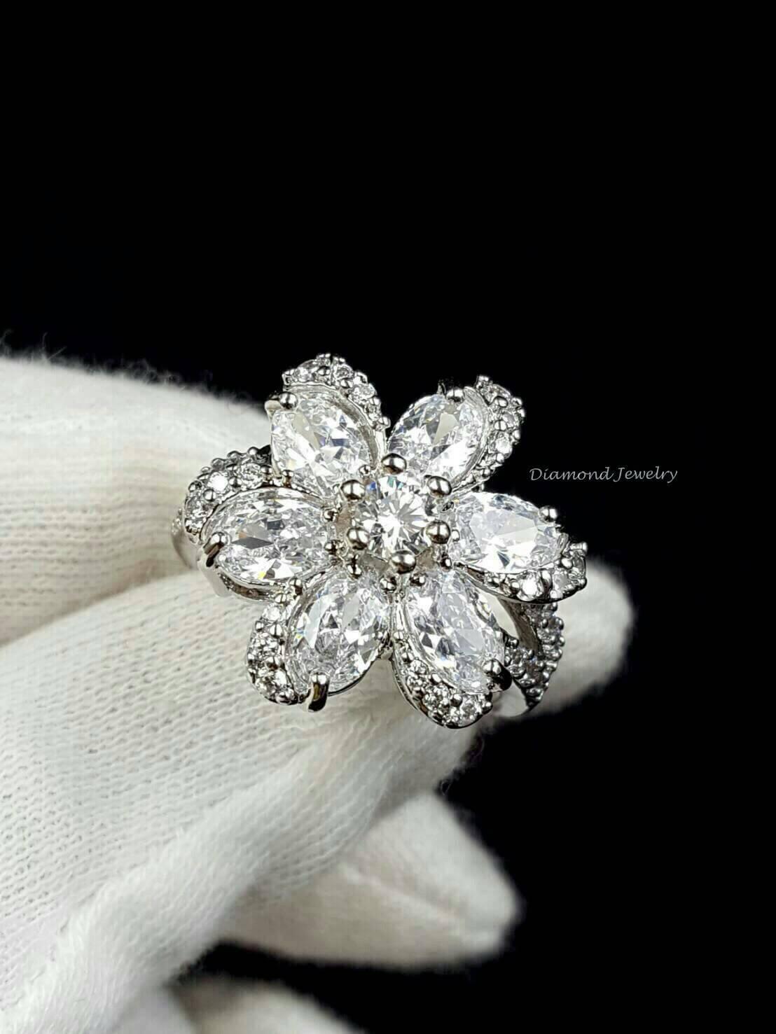 พร้อมส่ง Bvlgari Ring แหวน Bvlgari ทรงดอกไม้
