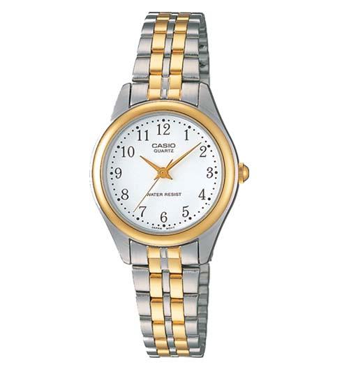 นาฬิกา ข้อมือผู้หญิง casio ของแท้ LTP-1129G-7BRDF CASIO นาฬิกา ราคาถูก ไม่เกิน สองพัน