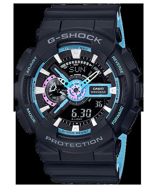 GShock G-Shockของแท้ ประกันศูนย์ GA-110PC-1A ThankYouSale จีช็อค นาฬิกา ราคาถูก ราคาไม่เกิน สี่พัน