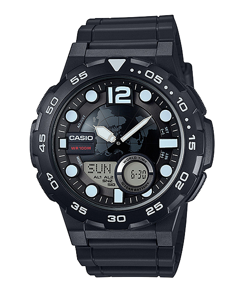 Casio นาฬิกา รุ่น AEQ-100W-1AV