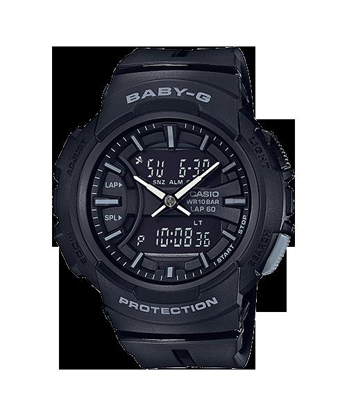 Baby-G ของแท้ ประกันศูนย์ BGA-240BC-1A เบบี้จี นาฬิกา ราคาถูก ไม่เกิน สี่พัน