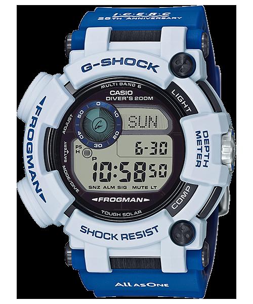 GShock G-Shockของแท้ FROGMAN Premium Model รุ่น ICERC Love The Sea And The Earth 2016 Dolphin Whale GWF-D1000K-7JR