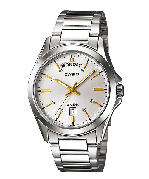 นาฬิกา ข้อมือผู้หญิง casio ของแท้ MTP-1370D-7A2VDF CASIO นาฬิกา ราคาถูก ไม่เกิน สองพัน