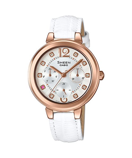 CASIO SHEEN นาฬิกาข้อมือ SHE-3048PGL-7A