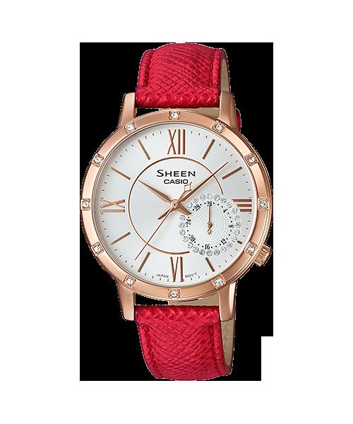 CASIO SHEEN นาฬิกาข้อมือ SHE-3046GLP-7B