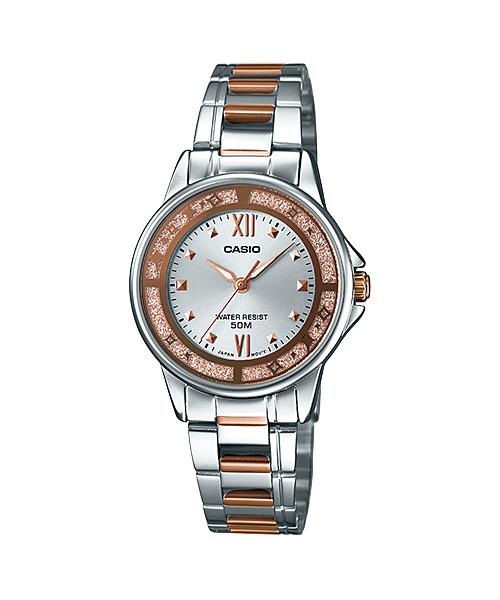 นาฬิกาข้อมือผู้หญิงCasioของแท้ LTP-1391RG-7AVDF CASIO นาฬิกา ราคาถูก ไม่เกิน สามพัน