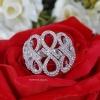 พร้อมส่ง Infinity Diamond Ring งานเพชร CZ แท้