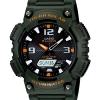 Casio SOLAR POWERED ระบบพลังงานแสงอาทิตย์ ของแท้ ประกันศูนย์ AQ-S810W-3AV CASIO นาฬิกา ราคาถูก ไม่เกิน สามพัน
