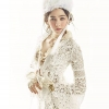 เสื้อผ้าเกาหลี พร้อมส่ง Bell Sleeve Daisy Lovely Lace Set