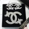 พร้อมส่ง Chanel Brooch & Earring เข็มกลัดและต่างหูเพชรชาแนล