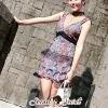 ชุดเดรสเกาหลี พร้อมส่งFashionista Blossom Lace Dress