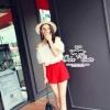 ( พร้อมส่ง) ชุดเซ็ทเสื้อทรงเปิดไหล่ ทรงตุ๊กตาเนื้อผ้าโปร่งไม่บางค่ะ สวมใส่สบาย แมตช์กับกางเกงสีแดงสดทรงสวยเนื้อผ้าเป็นทรงไม่ลีบติดตัว mix&matchได้หลายสไตล์ค่ะ
