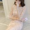 ชุดเดรสเกาหลี พร้อมส่งMini Dress แขนยาวสีทอง เหมาะสำหรับใส่ออกงานรับรองว่าสวยหรูไม่แพ้ใครเรยค่ะ