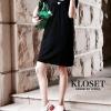 ชุดเดรสเกาหลีพร้อมส่ง Dress งานผ้า Knit ไหมพรม