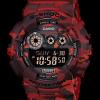 GShock G-Shockของแท้ ประกันศูนย์ GD-120CM-4A ลายพรางทหารสีแดง