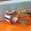 พร้อมส่ง Hermes Ring งาน stainless steel อย่างดี