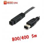 สาย IEEE firewire1394 800ไป400 6Pหัวใหญ่ 5m