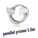 สาย parallel printer cable ยาว 1.5m -Gray