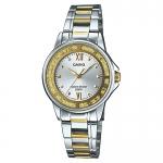 นาฬิกาข้อมือผู้หญิงCasioของแท้ LTP-1391SG-7AVDF