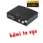 HDMI to VGA ตัวแปลงสัญญาณ มีเสียงด้วย