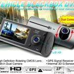 กล้องติดรถยนต์ รุ่น Hd Dvr R300 (ในตัวไม่ได้การ์ดหน่วยความจำ,รองรับ MICRO SDได้ถึง 32GB)