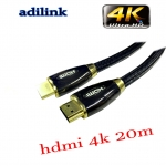 Adilink high speed hdmi cable Full hdmi 3D 4kx2k 2160p 20m