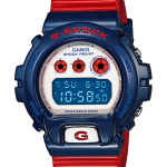 GShock G-Shockของแท้ ประกันศูนย์ DW-6900AC-2DR