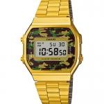 นาฬิกาข้อมือผู้หญิงCasioของแท้ A168WEGC-3
